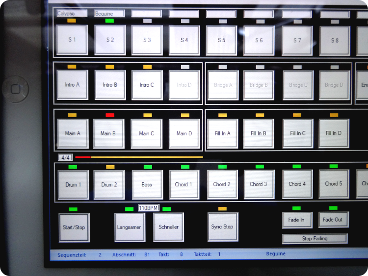 Tablet Control Panel